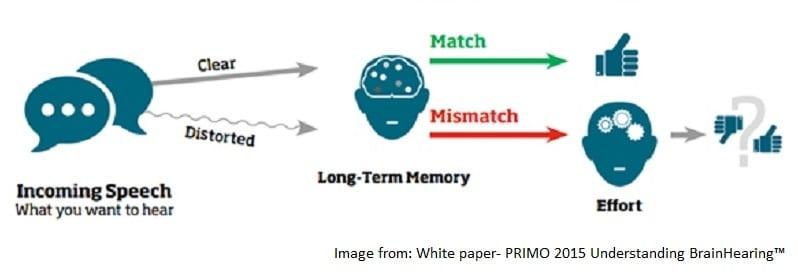 Hearing loss, memory loss and dementia